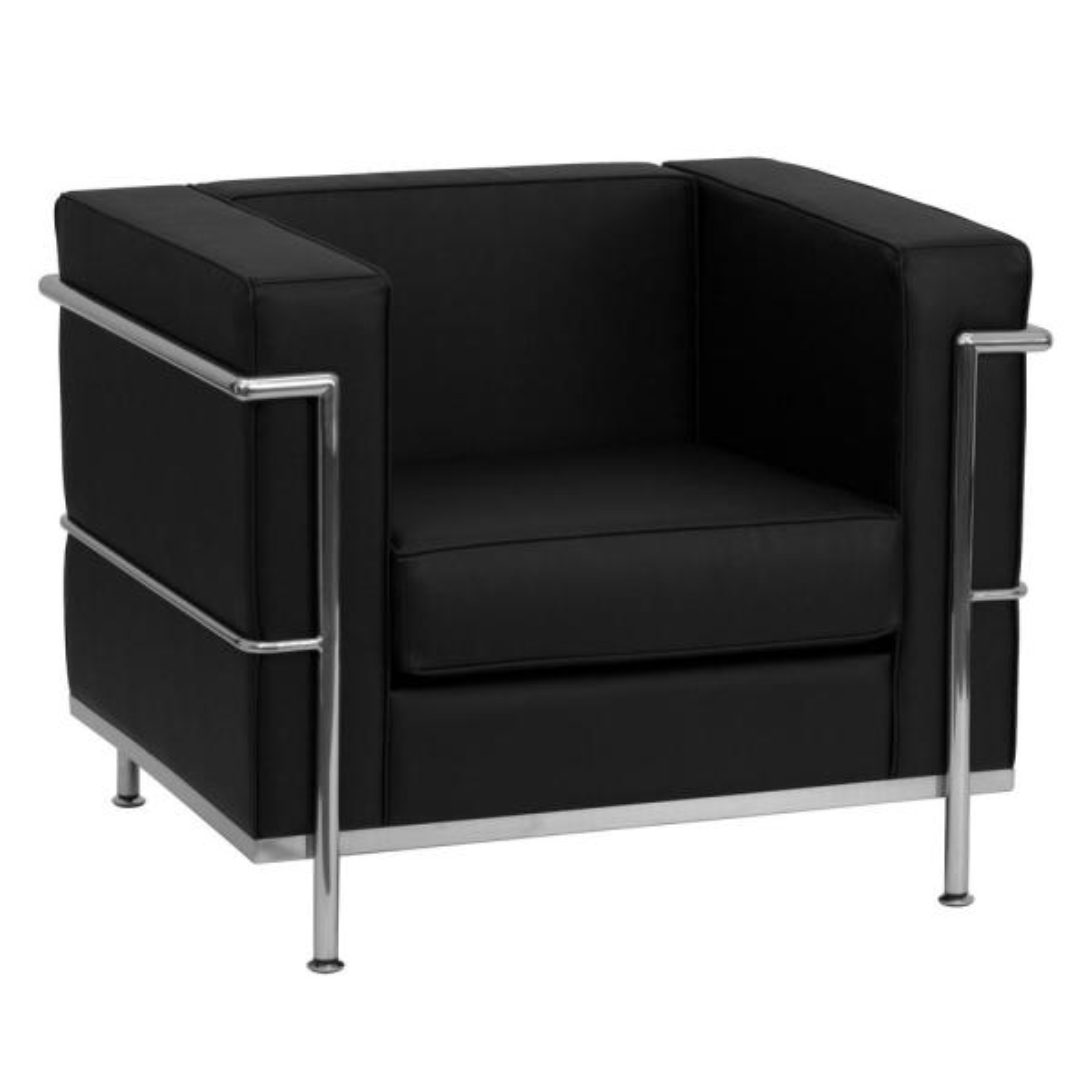 Flash Furniture Black Side Chair CGA-ZB-14942-BL-HD