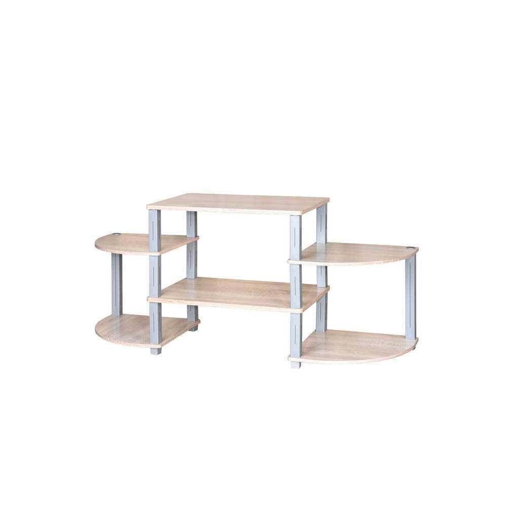 College Collection Natural TV Stand