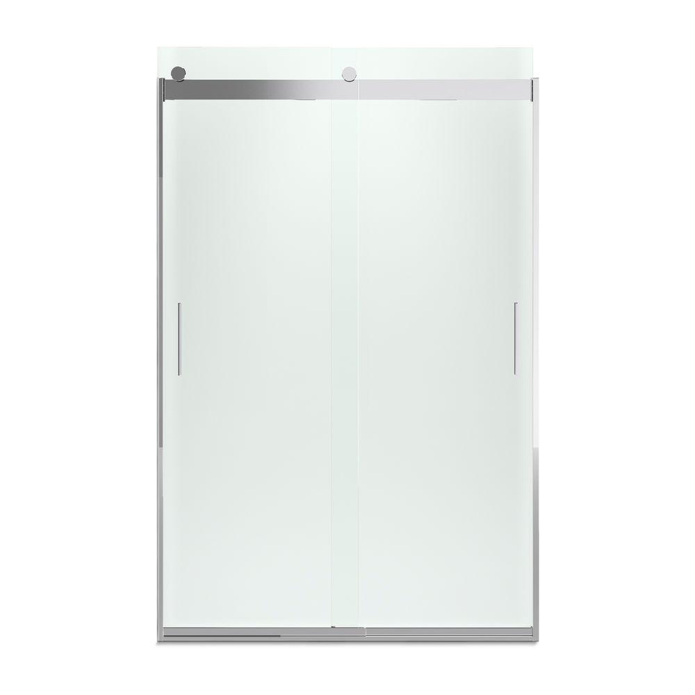 Kohler Sterling Sliding Shower Doors: KOHLER Levity 48 In. X 74 In. Semi-Frameless Sliding