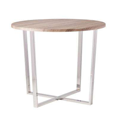 Celia Sun-Bleached Gray Dining Table