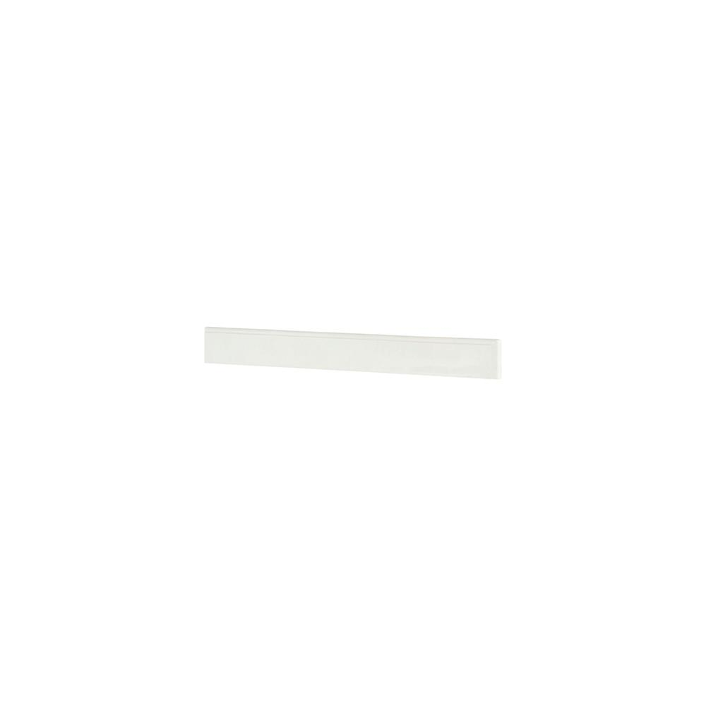 Home Decorators Collection Winslow 44 in. Marble Backsplash in White