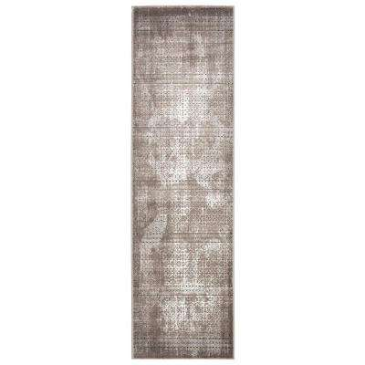 Karma Ash 2 ft. 2 in. x 7 ft. 6 in. Rug Runner