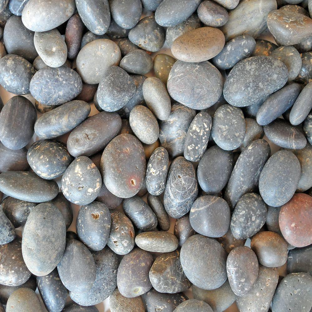 Butler Arts 0.25 cu. ft. 3/8 in. - 5/8 in. Mixed Mexican Beach Unpolished Pebble