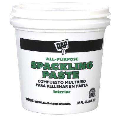 Spackling Paste 32 oz. White All-Purpose