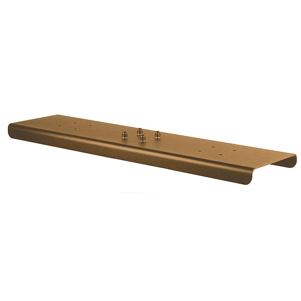 2-Wide Spreader for Salsbury Designer Roadside Mailboxes in Bronze
