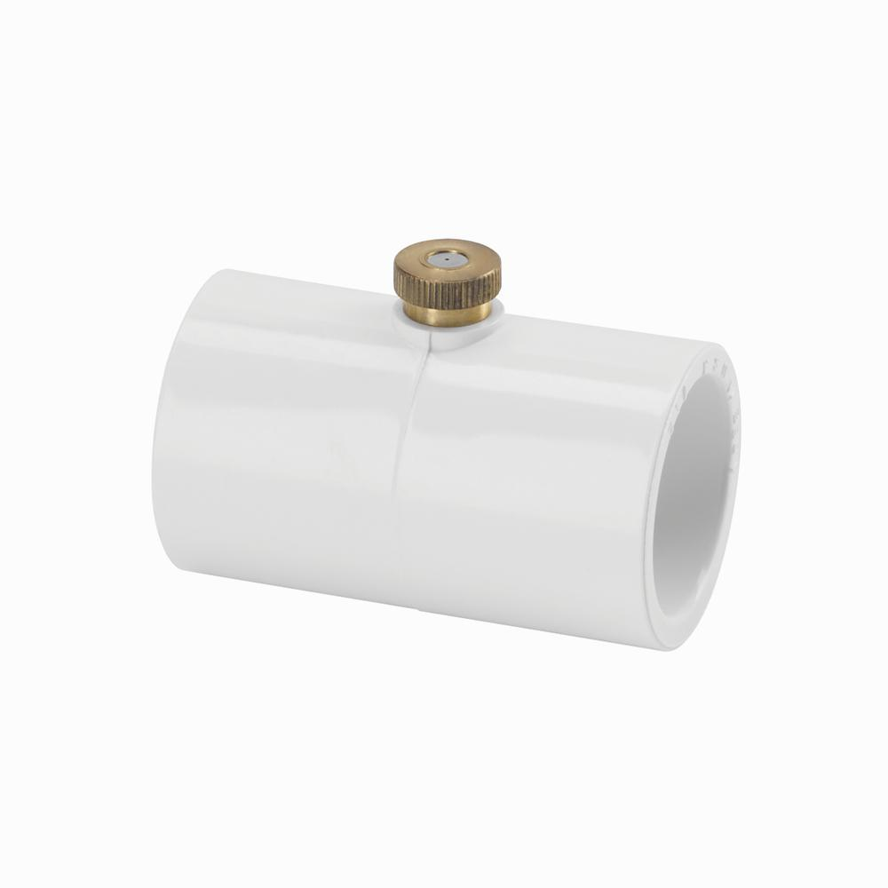 Ryobi 1 2 In Pvc Connector With Nozzle Pmc160 The Home Depot