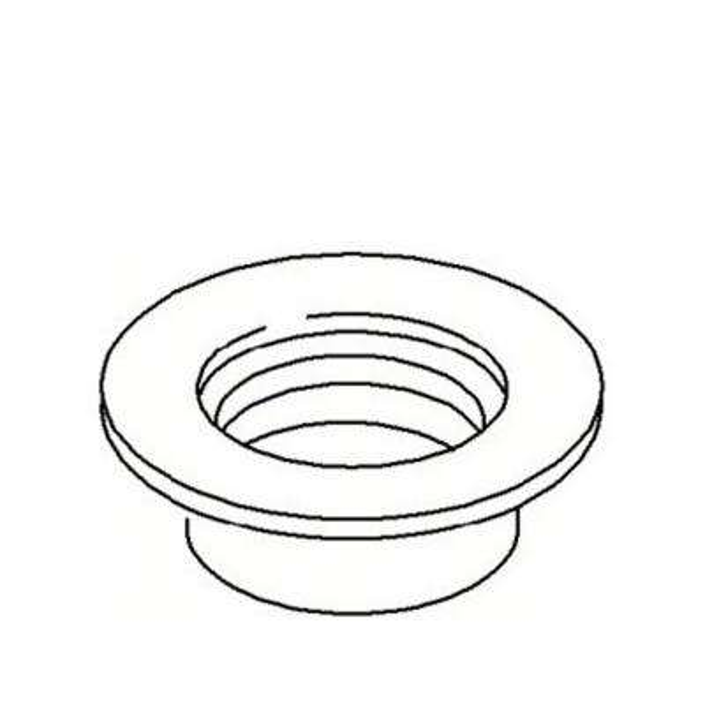 3.5 in. Brass Round Drain Trim Ring