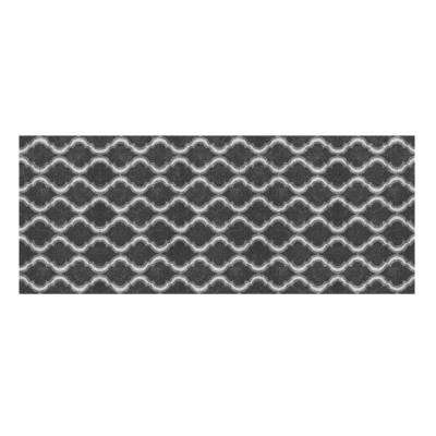 Trellis Grey 2 ft. x 5 ft. Accent Rug