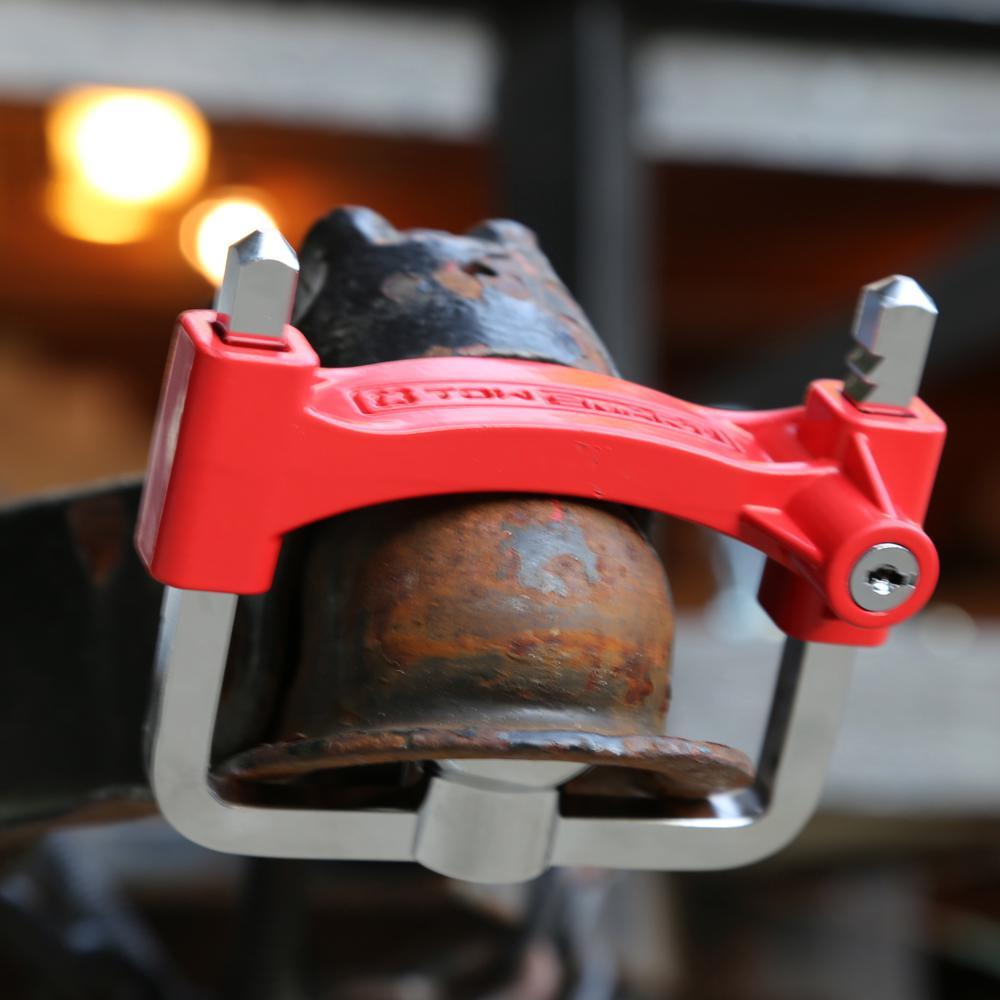 TowSmart Adjustable Brass Coupler Lock
