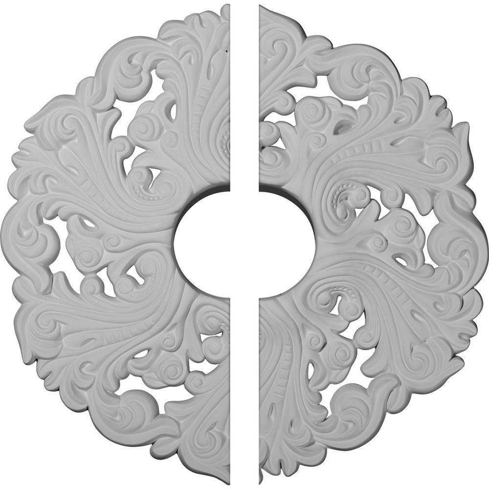 19-5/8 in. O.D. x 4-3/4 in. I.D. x 1-3/4 in. P Orrington Ceiling Medallion (2-Piece)