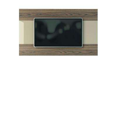 Carnegie TV Panel in Nature and Nude/Pro Touch and High Gloss