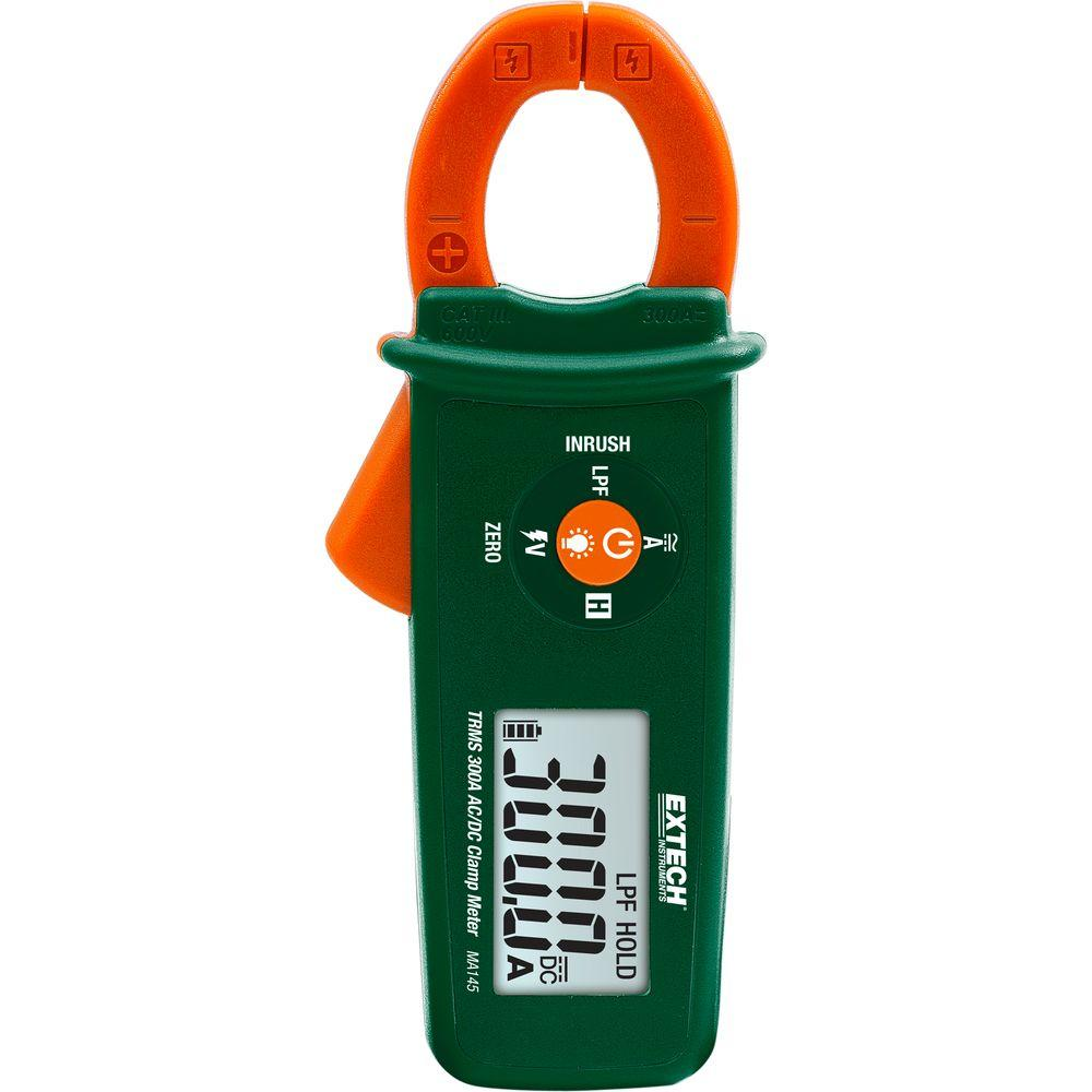 Best Clamp Meter : Extech instruments true rms amp ac dc clamp meter