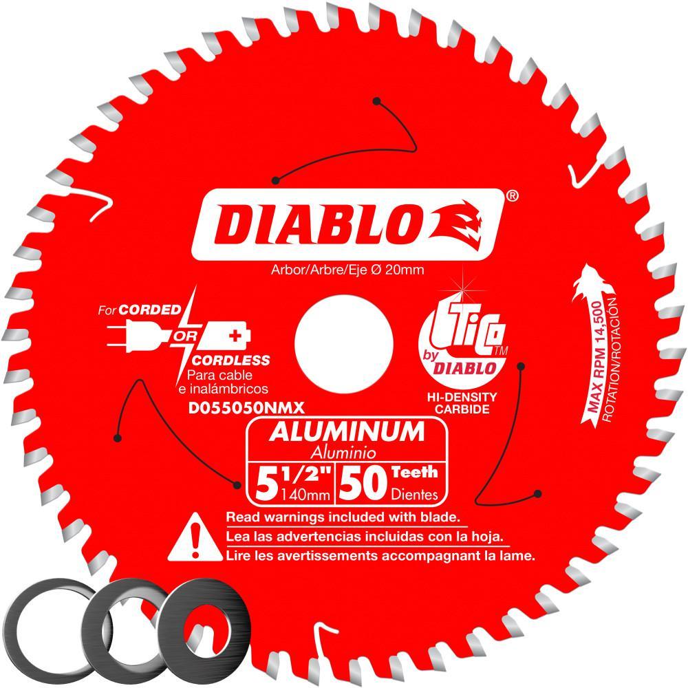 Super Thin Laser Cut Diablo FRAMING CORDESS CIRCULAR SAW BLADE 140mm 18 Teeth