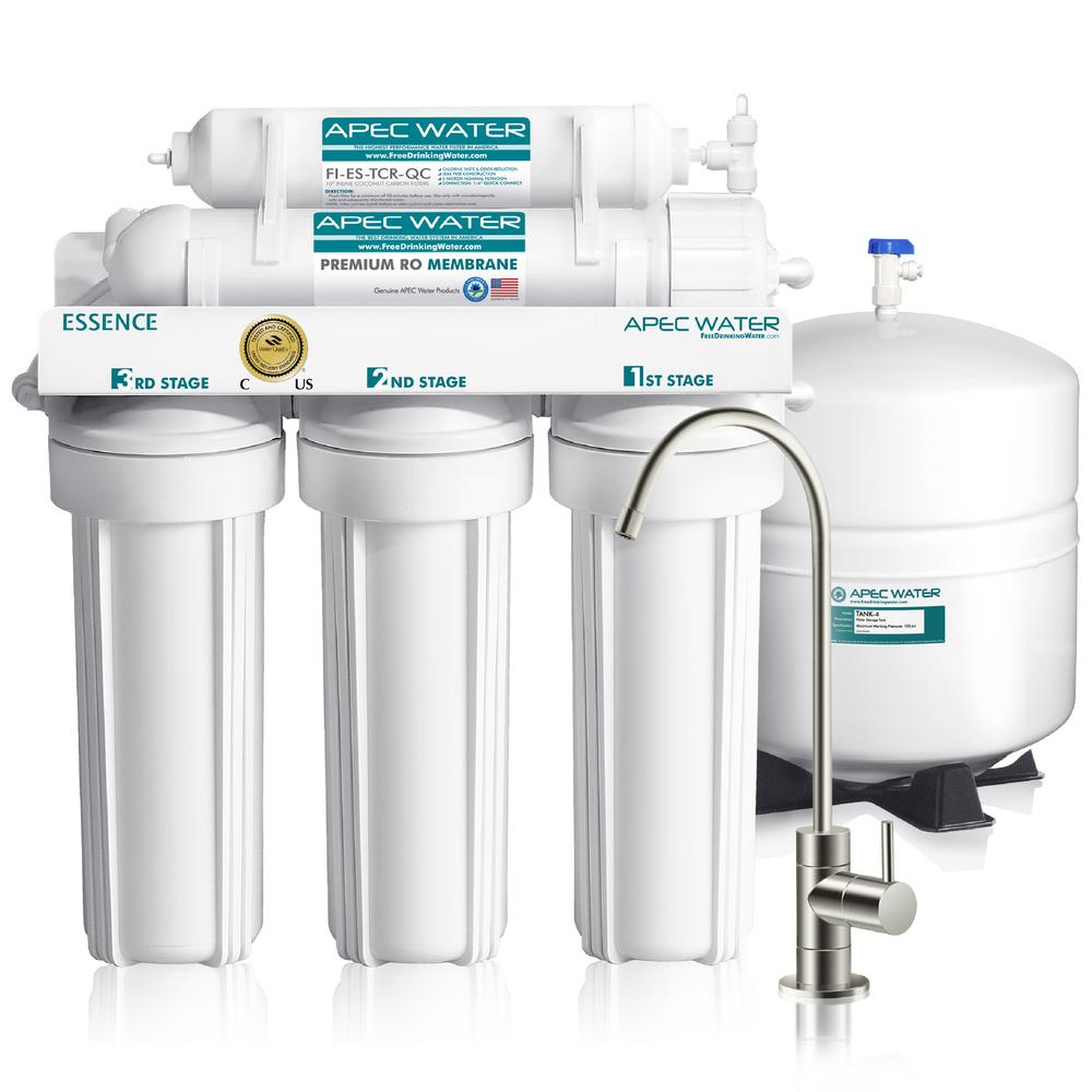 Apec Water Systems Essence Premium Quality 5 Stage Under Sink