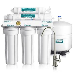 RK-HYTQWR 4 Way Ro Auto Shut-Off Valve Switch 1//4 Water Purifier Reverse Osmosis System,Pure Water Machine Quick Connection,White