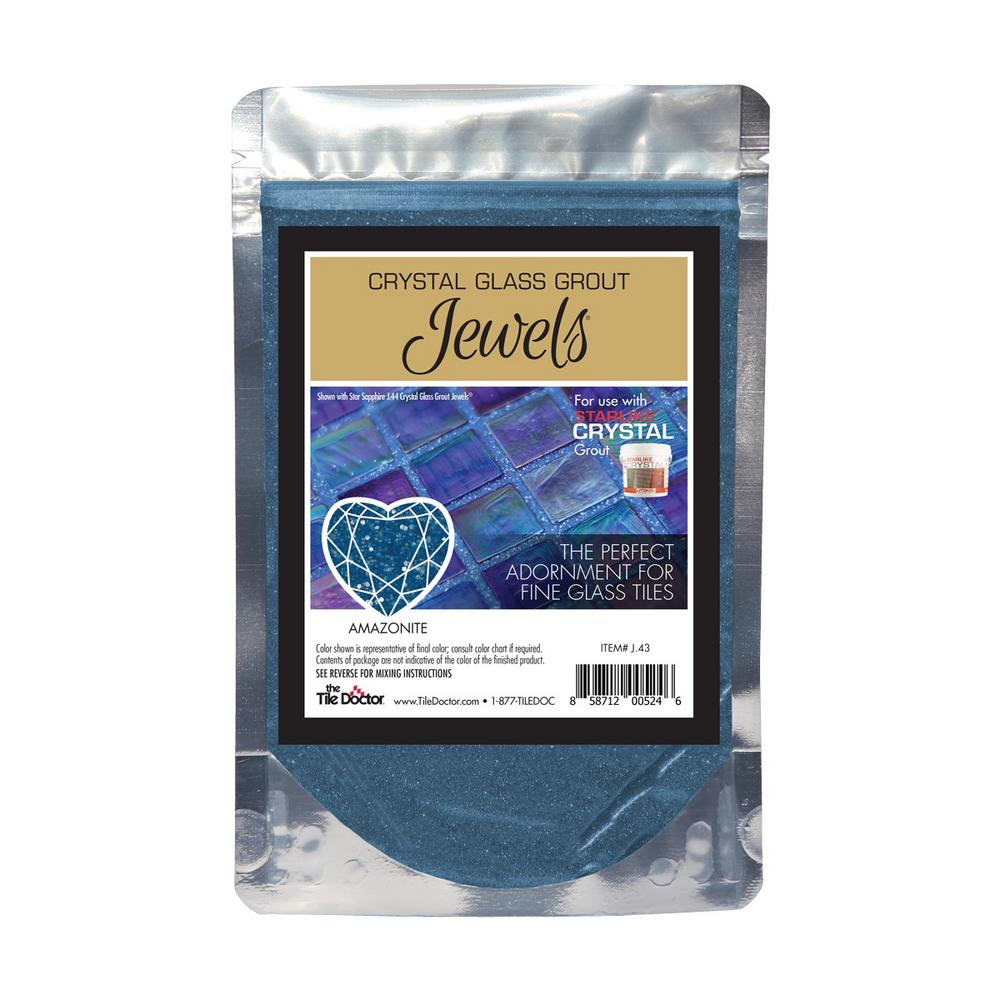 The Tile Doctor Crystal Glass Jewels Amazonite Additive
