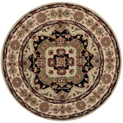 Total Performance Soft Green/Ivory 8 ft. x 8 ft. Round Area Rug