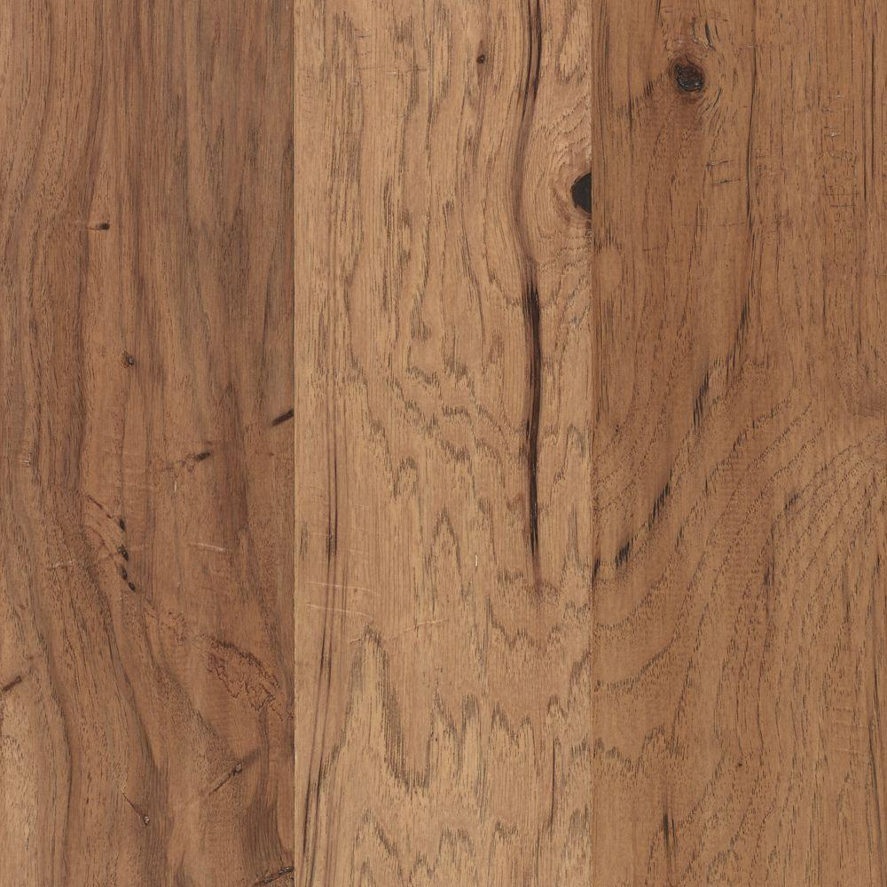 Mohawk steadman harvest hickory 3 8 in thick x 5 in wide for Hardwood flooring 8 wide