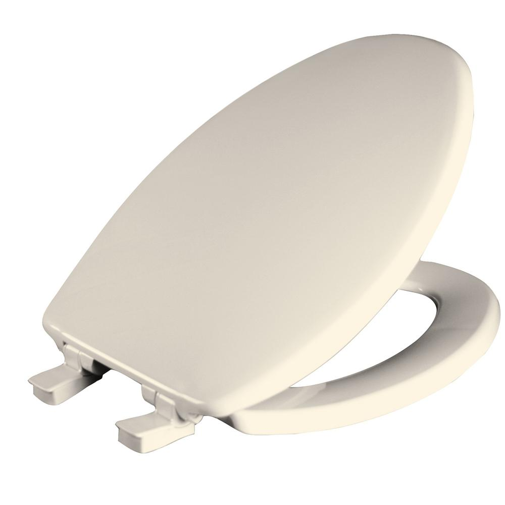Church Whisper Close Elongated Closed Front Toilet Seat i...