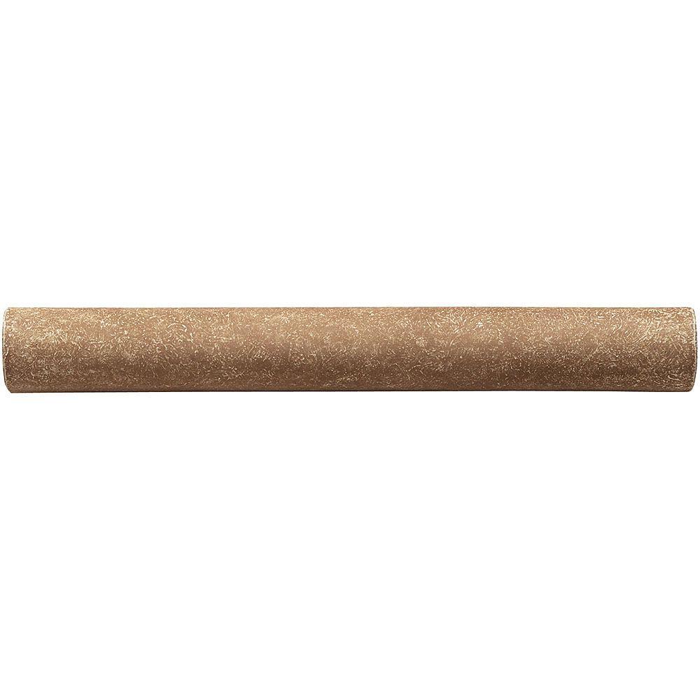 Weybridge 3/4 in. x 6 in. Cast Stone Pencil Liner Noche Tile (10 pieces / case)