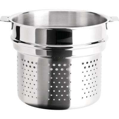 Tulipe 7.5 Qt. Stainless Steel Pasta Basket Insert Fits 8.5 in. Vessel