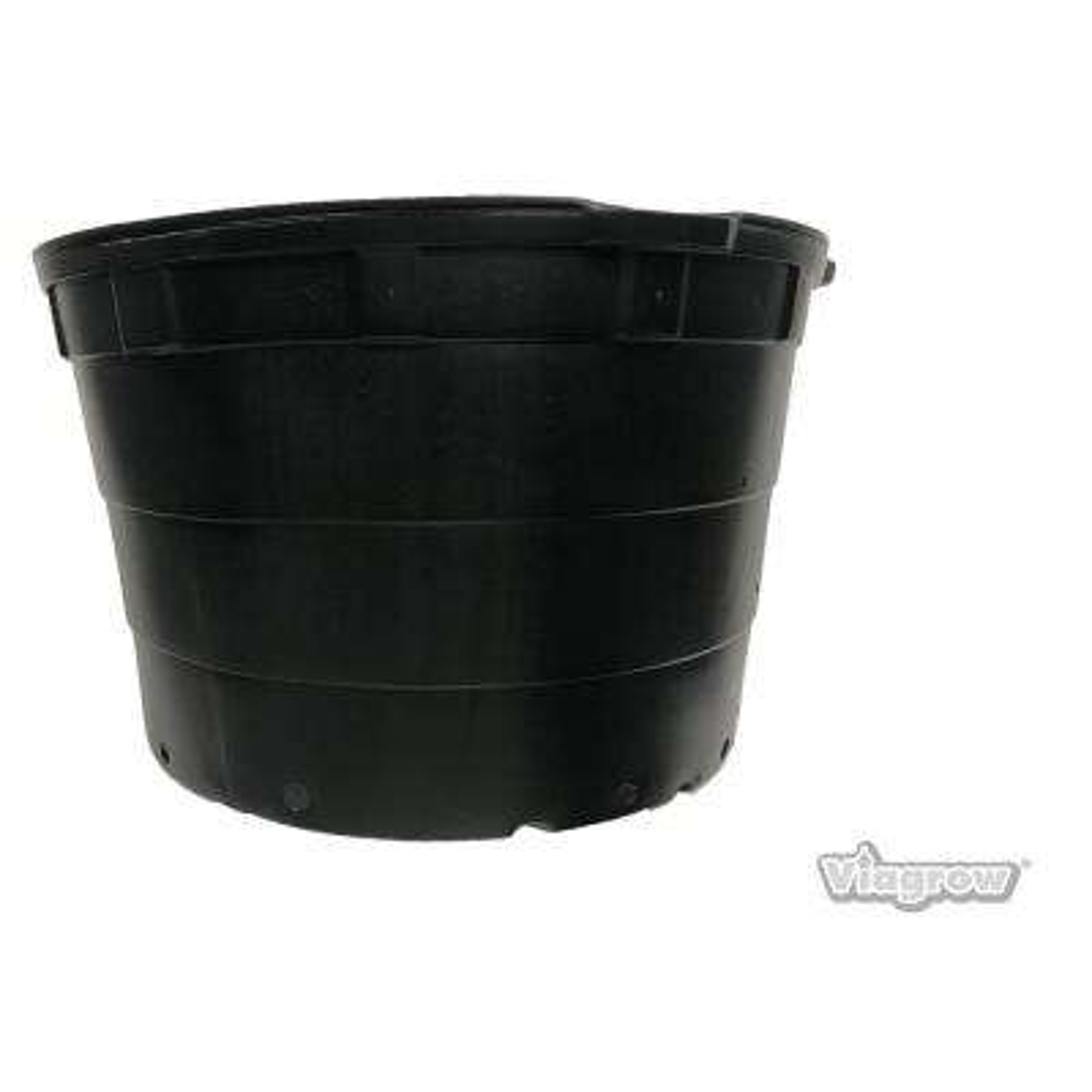 100 Gal. Round Plastic Nursery Garden Pots (5-Pack) (97 Actual Gallons/367.18 liters/15.09 cu. ft.)