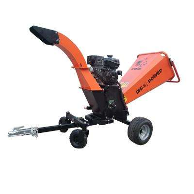 6 Gas Wood Chippers Chipper Shredders The Home Depot