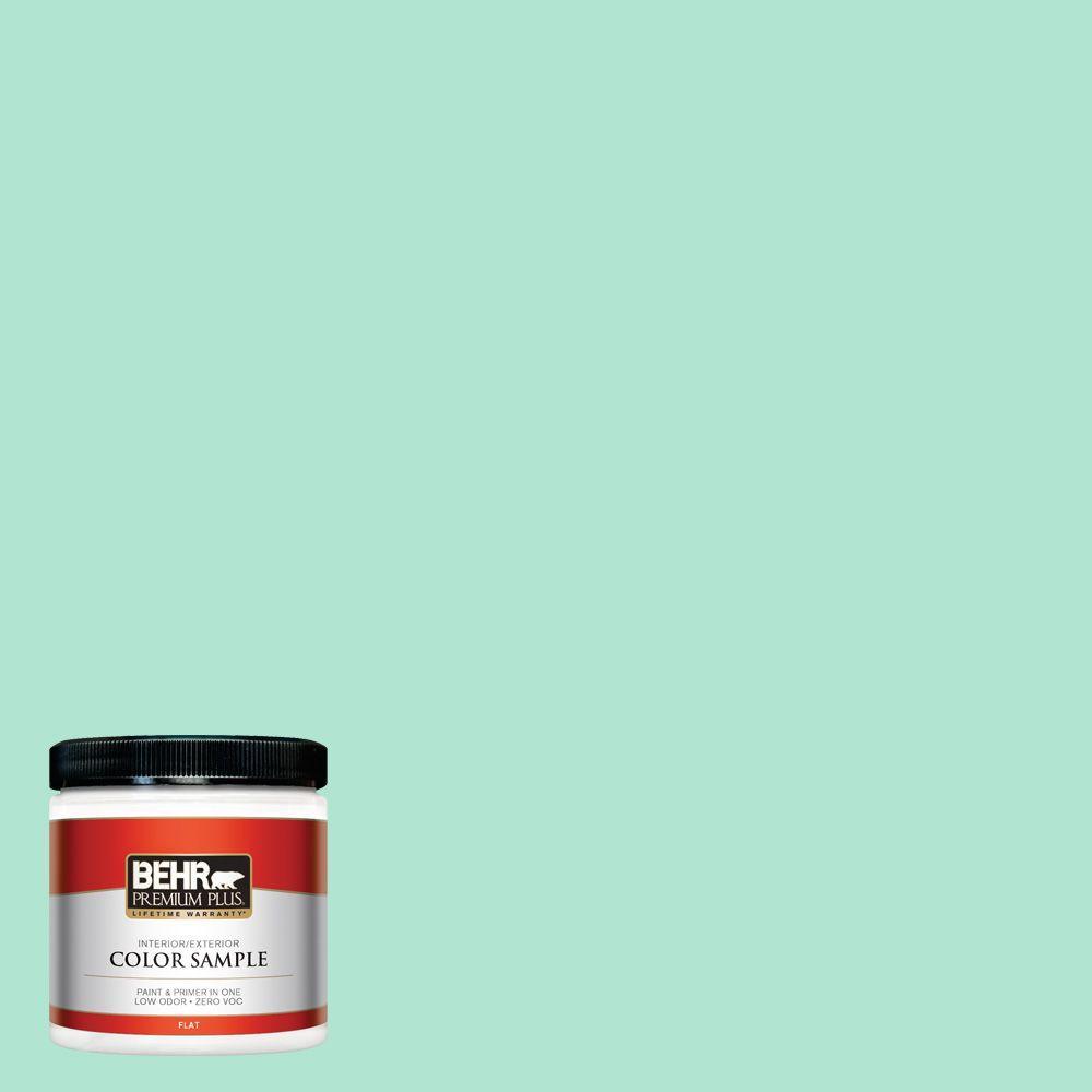 BEHR Premium Plus 8 oz. #P420-2 Crystal Rapids Interior/Exterior Paint Sample