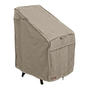 classic accessories montlake stackable patio chair cover 55 659 016701 rt the home depot. Black Bedroom Furniture Sets. Home Design Ideas