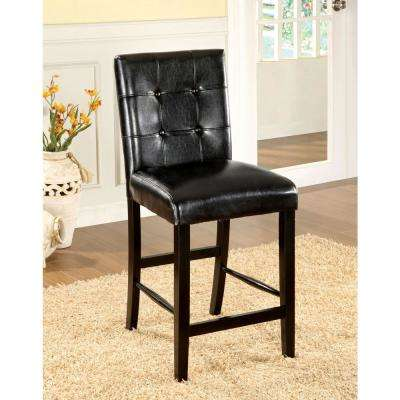 Bahamas Black Contemporary Style Counter Height Chair