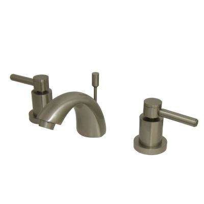 Abington 4 in. Minispread 2-Handle Bathroom Faucet in Satin Nickel