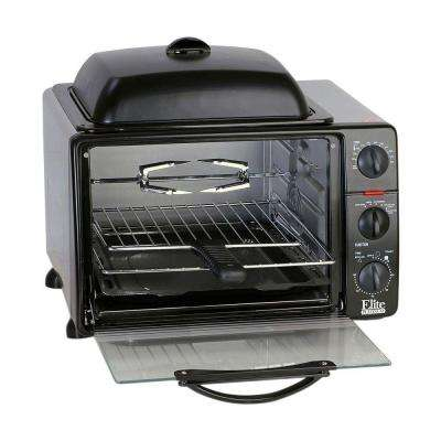 Platinum Black Toaster Oven