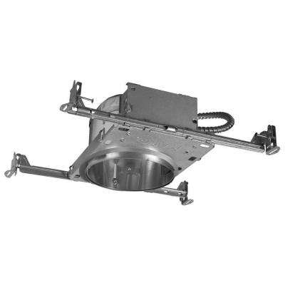 H27 6 In Aluminum Recessed Lighting Housing For New Construction Shallow Ceiling Insulation Contact Air E Pack