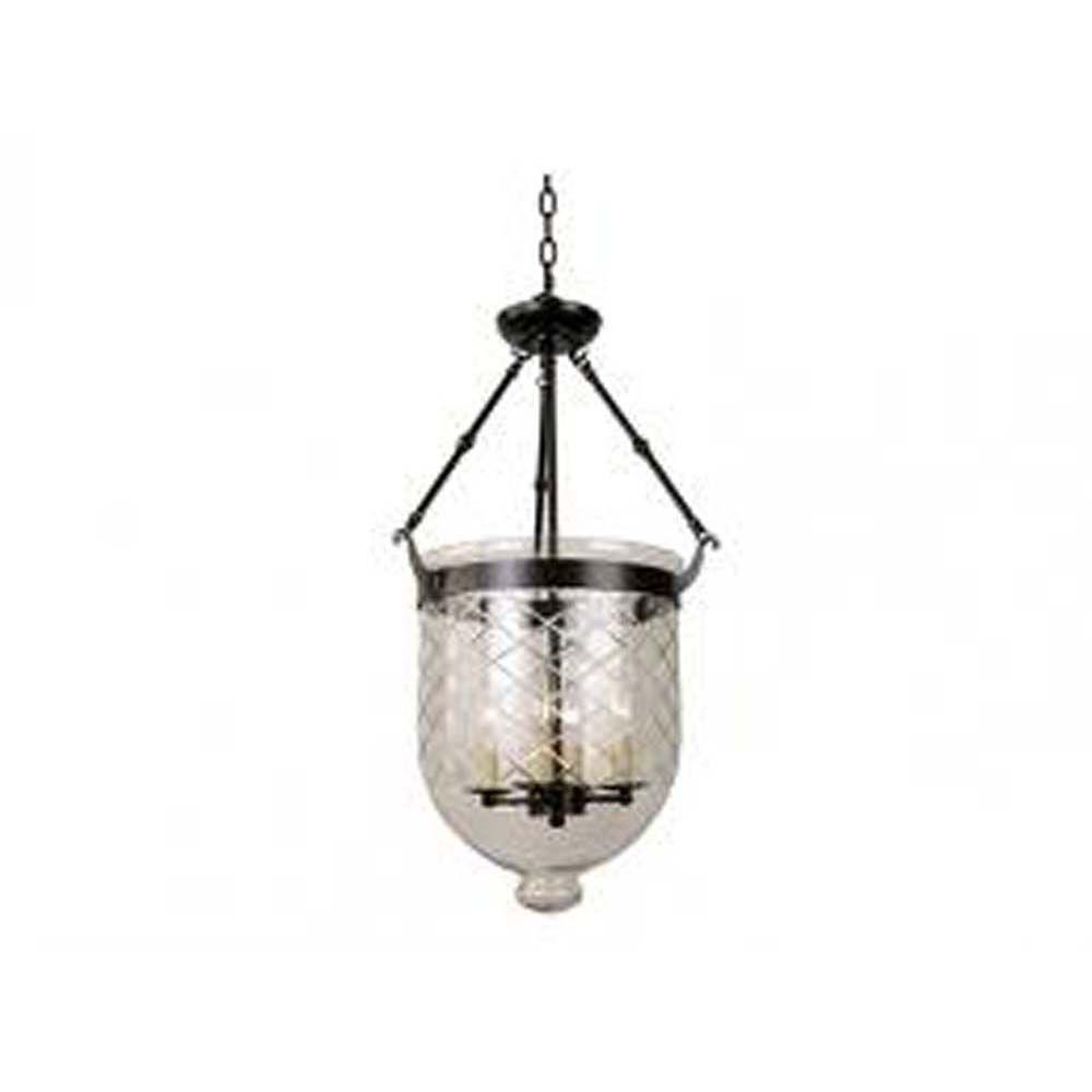 Filament Design Xavier 4-Light Bronze Lantern