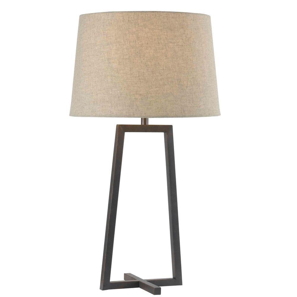 Kenroy home ranger 28 in oil rubbed bronze table lamp 32150orb oil rubbed bronze table lamp geotapseo Gallery