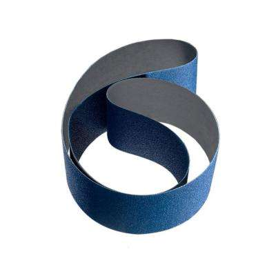 2 in. x 48 in. 60-Grit Zirconia and Aluminum Oxide Cloth Sanding Belt (10-Pack)