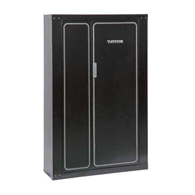 16-Gun Metal Security Cabinet with 2 Doors