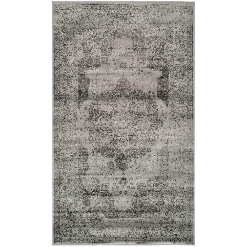 Safavieh Vintage Grey Multi 4 Ft X 6 Area Rug