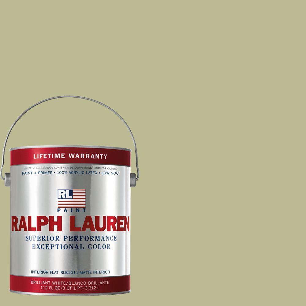 Ralph Lauren 1-gal. Weaver's Green Flat Interior Paint