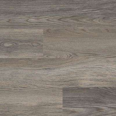 Blue Cedar Grey 6 in. Wide x 48 in. Length Click Floating luxury vinyl plank flooring (19.39 sq. ft./case)