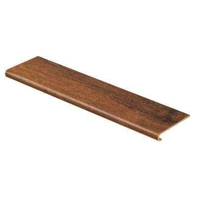Dark Oak 47 in. Length x 12-1/8 in. Deep x 1-11/16 in. Height Laminate to Cover Stairs 1 in. Thick