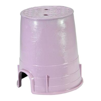 6 in. Standard Round Valve Box and Lid - Reclaimed Water
