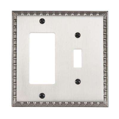 Renaissance 1 Toggle 1 Decora Wall Plate - Antique Nickel