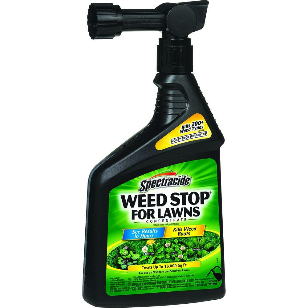 Spectracide Weed Stop 32 oz. Ready-to-Spray Concentrate for Lawns