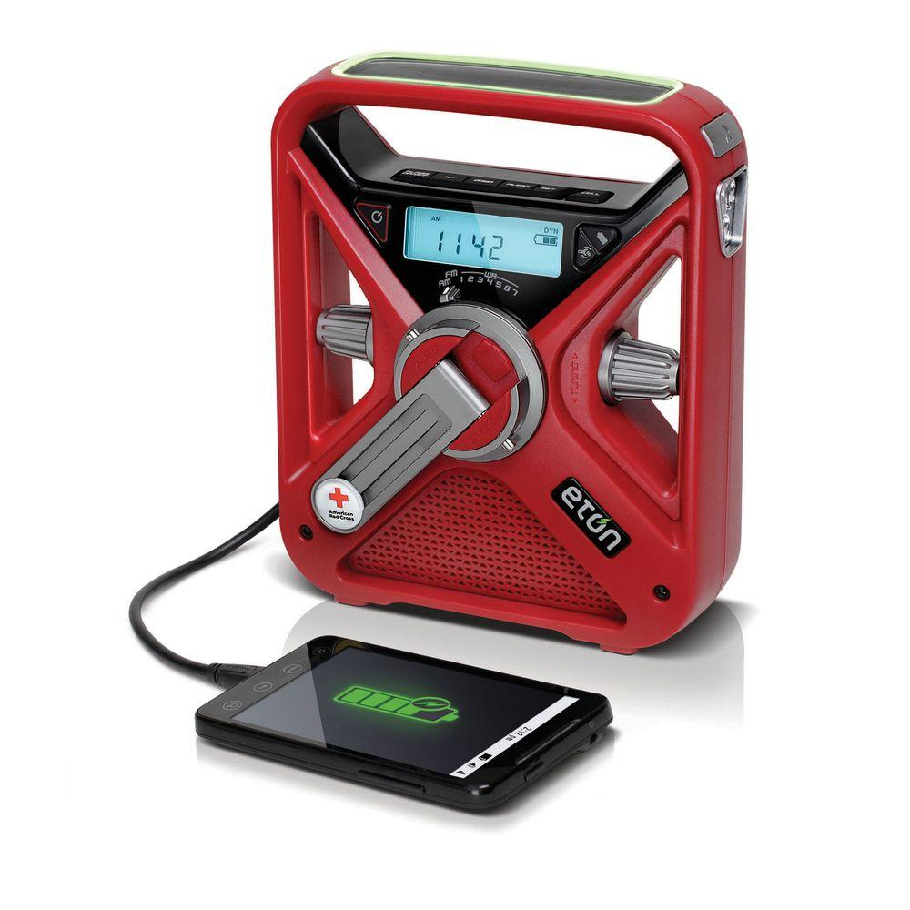 American Red Cross FRX3 Solar and Hand Turbine Powered Radio
