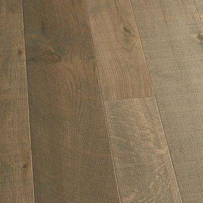 Take Home Sample - French Oak Half Moon Engineered Click Lock Hardwood Flooring - 5 in. x 7 in.
