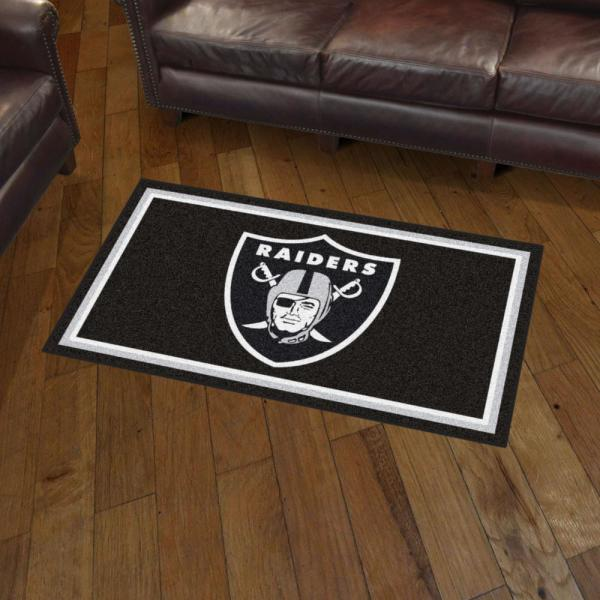 Fanmats Nfl Las Vegas Raiders 3 Ft X
