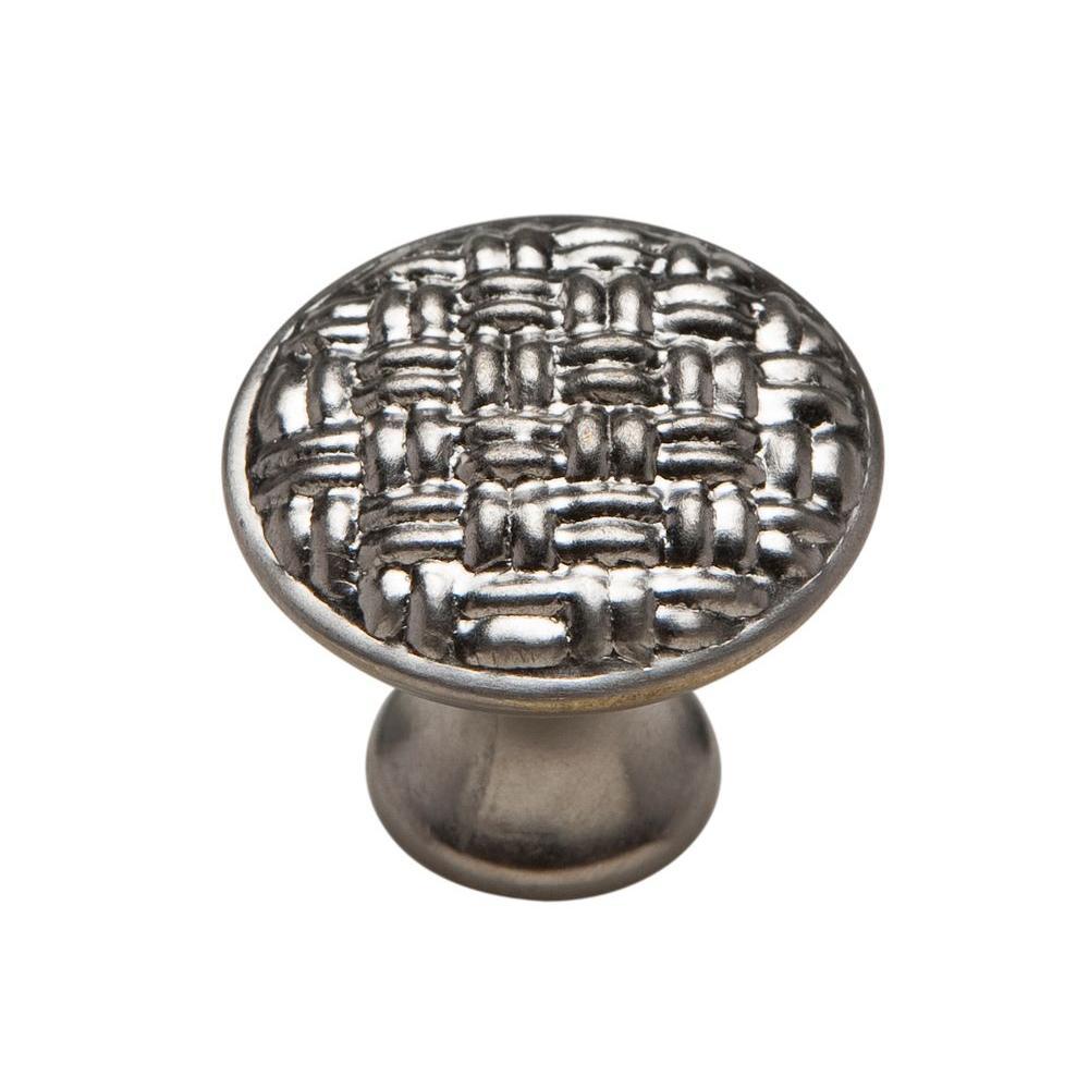 1-1/8 in. Muted Nickel Cabinet Knob