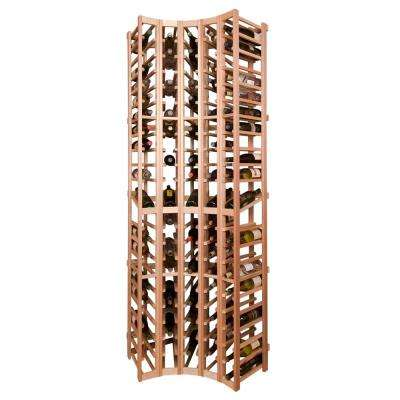 105-Bottle Pine Floor Wine Rack