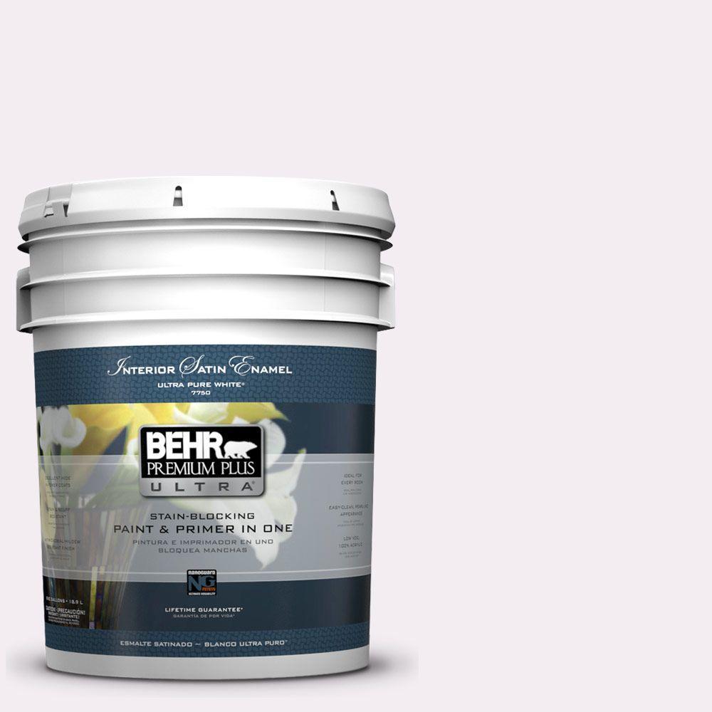 5-gal. #680E-1 First Blush Satin Enamel Interior Paint